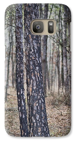 Galaxy Case featuring the photograph Bark by Yvonne Emerson AKA RavenSoul