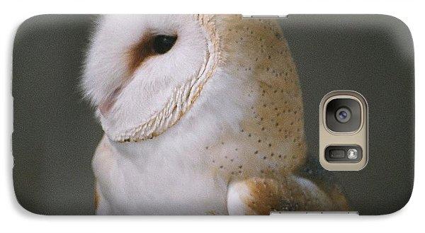 Galaxy Case featuring the photograph Barn Owl by David Porteus