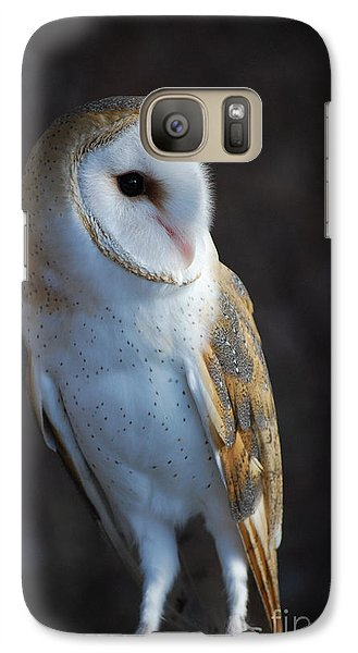 Galaxy Case featuring the photograph Barn Owl by Sharon Elliott