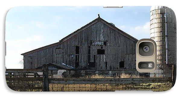 Galaxy Case featuring the digital art Barn - Waupaca County Wisconsin by David Blank