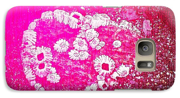 Galaxy Case featuring the photograph Barnacle Heart by Cynthia Lagoudakis