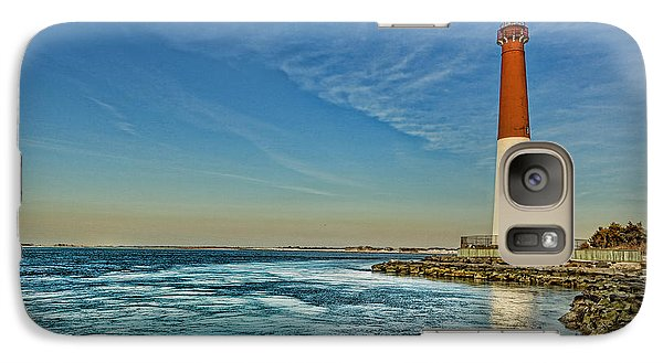 Galaxy Case featuring the photograph Barnegat Lighthouse II - Lbi by Lee Dos Santos