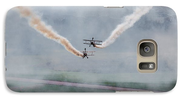 Galaxy Case featuring the photograph Barnstormer Late Afternoon Smoking Session by Chris Lord