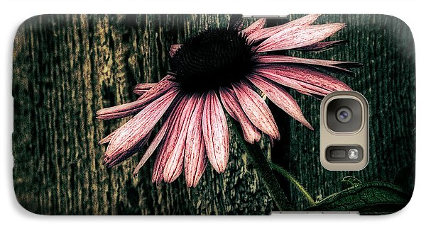 Galaxy Case featuring the photograph Barnyard Coneflower by Marjorie Imbeau