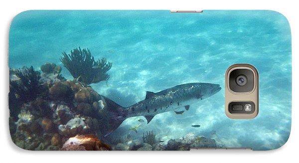 Galaxy Case featuring the photograph Barracuda by Eti Reid