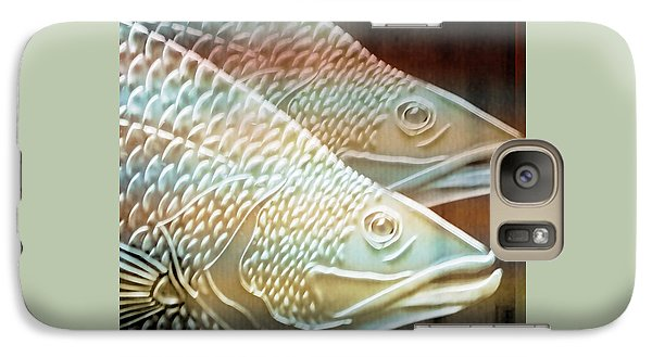 Galaxy Case featuring the photograph Barramundi by Holly Kempe