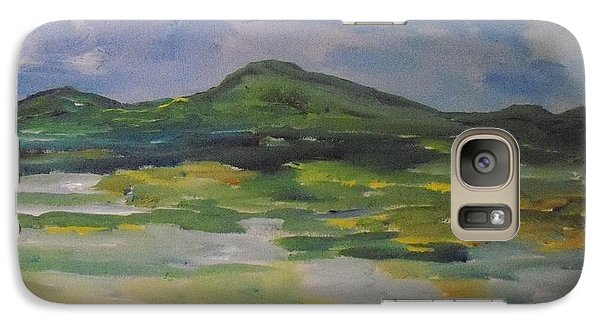 Galaxy Case featuring the painting Barren But Beautiful by Conor Murphy
