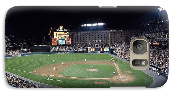 Oriole Galaxy S7 Case - Baseball Game Camden Yards Baltimore Md by Panoramic Images