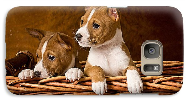 Basenji Puppies Galaxy S7 Case