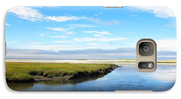 Galaxy Case featuring the photograph Bass Hole II by David Klaboe