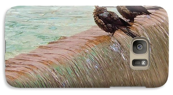 Galaxy Case featuring the photograph Bath Time At The Adolphus by Robert ONeil