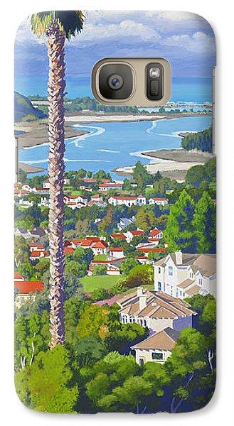 Batiquitos Lagoon 2014 Galaxy Case by Mary Helmreich