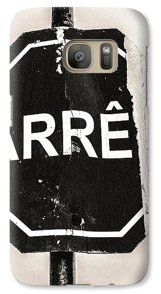 Galaxy Case featuring the photograph Battered by Arkady Kunysz