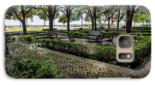 Galaxy Case featuring the photograph Battery Park by Sennie Pierson