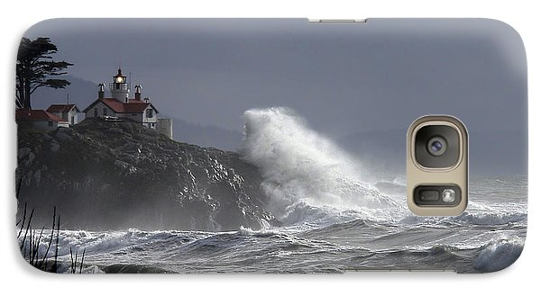 Galaxy Case featuring the photograph Battery Point Storm by Betty Depee
