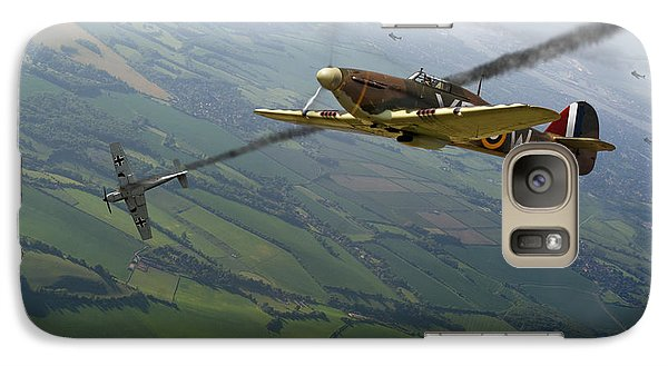 Battle Of Britain Dogfight Galaxy S7 Case