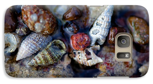 Galaxy Case featuring the photograph Bauxite Shells And Sand. by Carole Hinding
