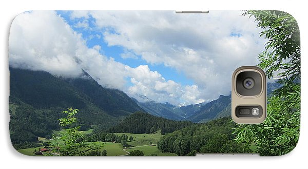 Galaxy Case featuring the photograph Bavarian Countryside by Pema Hou