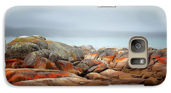 Galaxy Case featuring the photograph Bay Of Fires 4 by Wallaroo Images