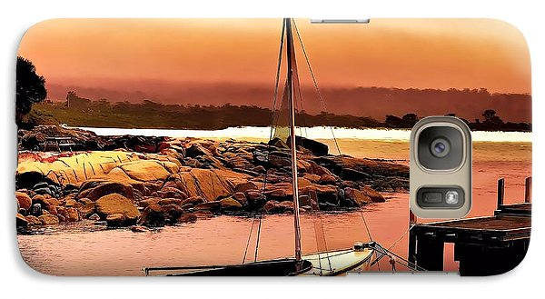 Galaxy Case featuring the photograph Bay Of Fires 5 by Wallaroo Images