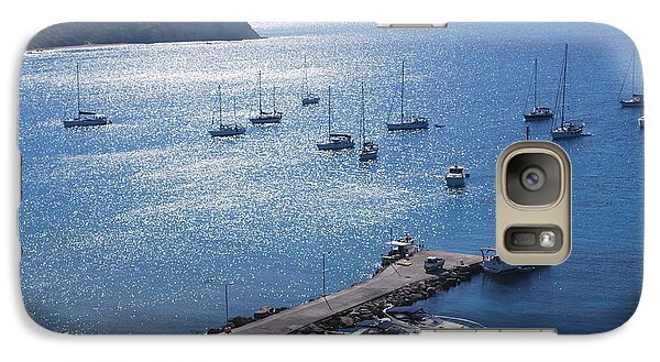 Galaxy Case featuring the photograph Bay Of Porto by George Katechis