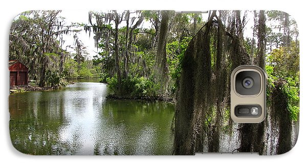 Galaxy Case featuring the photograph Bayou by Beth Vincent