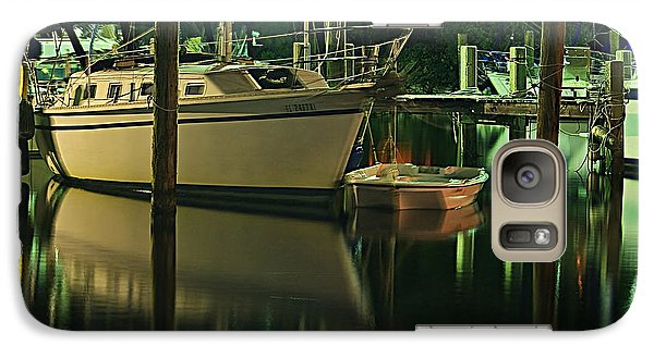 Galaxy Case featuring the photograph Bayou Reflect by Tammy Schneider