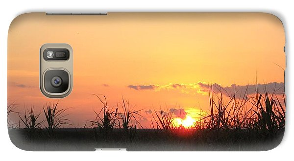 Galaxy Case featuring the photograph Bayou Sunset by John Glass