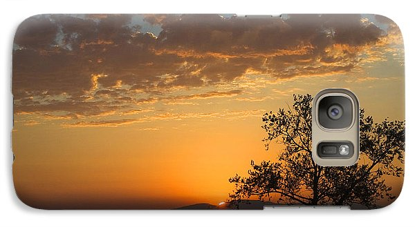 Galaxy Case featuring the photograph Bayview Sunset by Sonya Lang