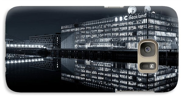 Galaxy Case featuring the photograph Bbc Studio's - Glasgow by Stephen Taylor