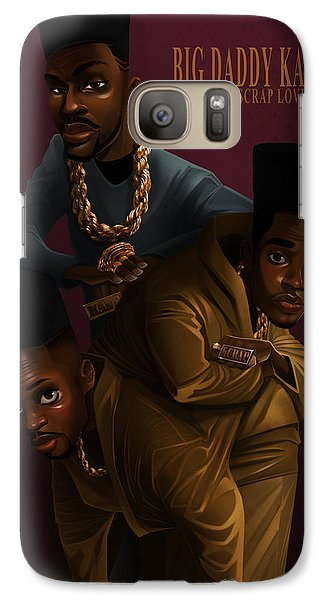 Galaxy Case featuring the drawing Bdk Color Bg by Nelson Dedos Garcia