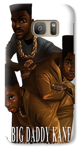 Galaxy Case featuring the drawing Bdk White Bg by Nelson Dedos Garcia