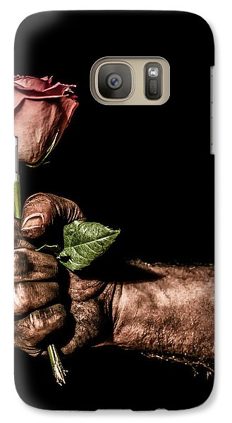 Galaxy Case featuring the photograph Be Mine by Aaron Aldrich