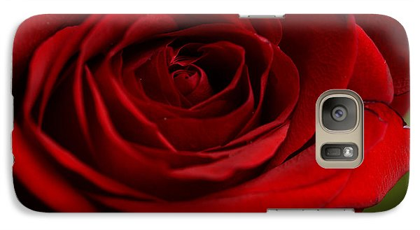 Galaxy Case featuring the photograph Be My Valentine by Wanda Brandon