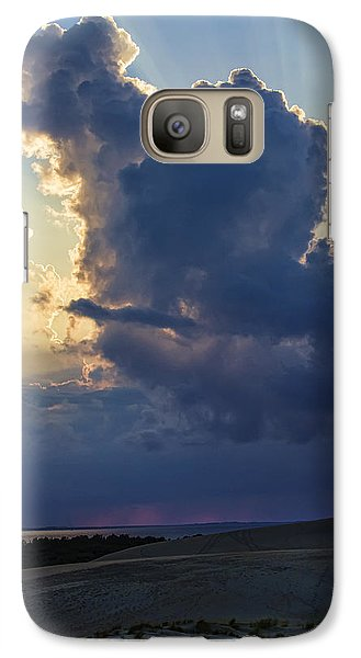 Galaxy Case featuring the photograph Be Still And Know That I Am God by Skip Tribby