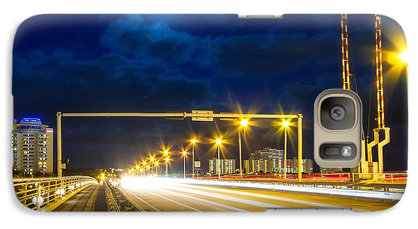 Beach Causeway Galaxy Case by Mark Andrew Thomas