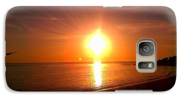 Galaxy Case featuring the photograph Beach by Chris Tarpening