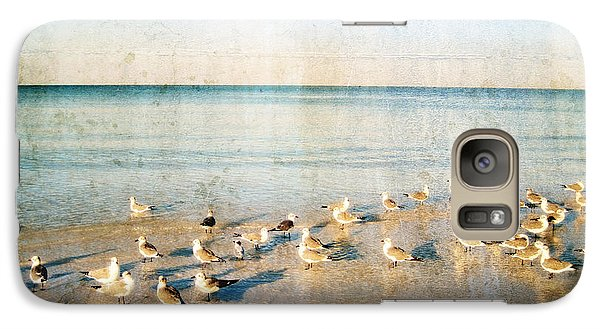 Beach Combers - Seagull Art By Sharon Cummings Galaxy S7 Case