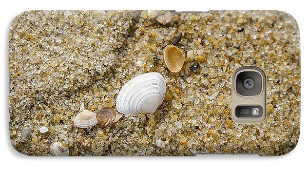 Galaxy Case featuring the photograph Beach Debris by Bradley Clay