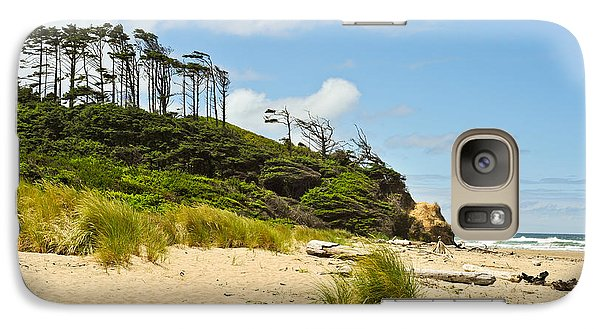 Galaxy Case featuring the photograph Beach Forest by Crystal Hoeveler