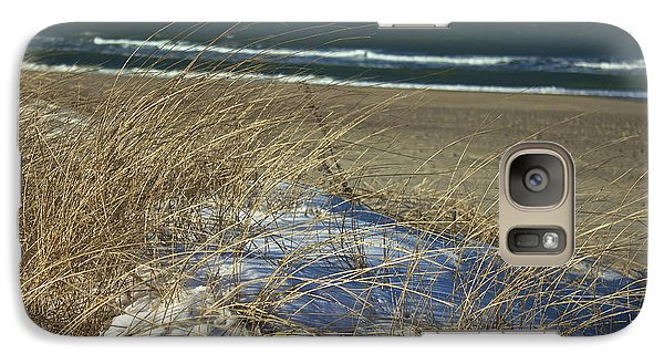 Galaxy Case featuring the photograph Beach Grass by Amazing Jules
