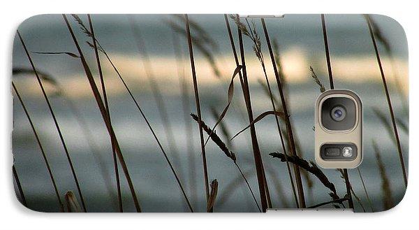 Galaxy Case featuring the photograph Beach Grass by Kimberly Mackowski