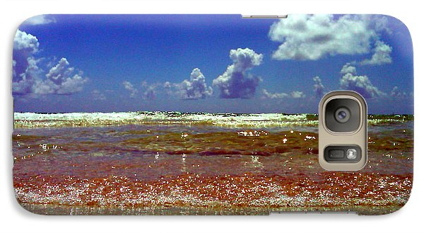 Galaxy Case featuring the photograph Beach by J Anthony