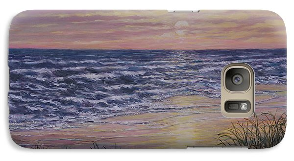 Galaxy Case featuring the painting Beach Razzle Dazzle 2 by Kathleen McDermott