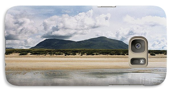Galaxy Case featuring the photograph Beach Sky And Mountains by Rebecca Harman