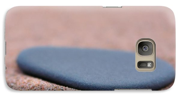 Galaxy Case featuring the photograph Beach Stone At Park Point Minnesota by Todd Soderstrom