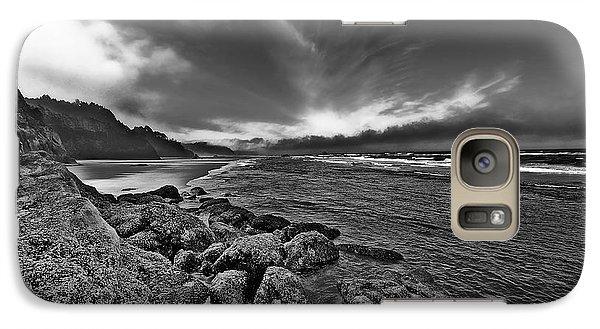 Galaxy Case featuring the photograph Beach Surf by Thomas Born