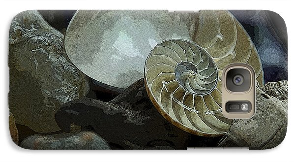 Galaxy Case featuring the photograph Beach Treasures by Jeanette French