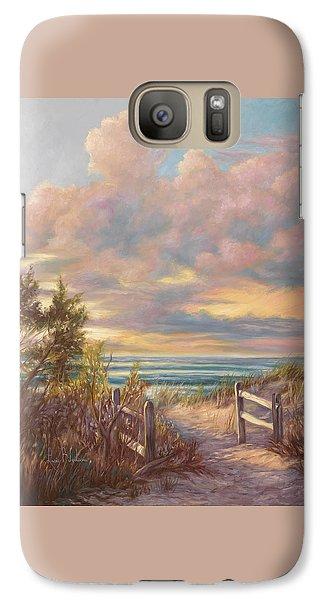 Beach Walk Galaxy S7 Case