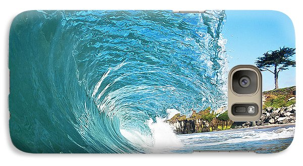 Galaxy Case featuring the photograph Beach Wave by Paul Topp